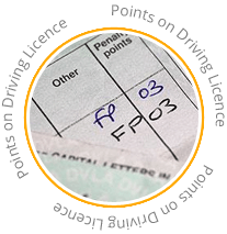 Points on driving licence