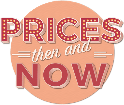 Prices then and now