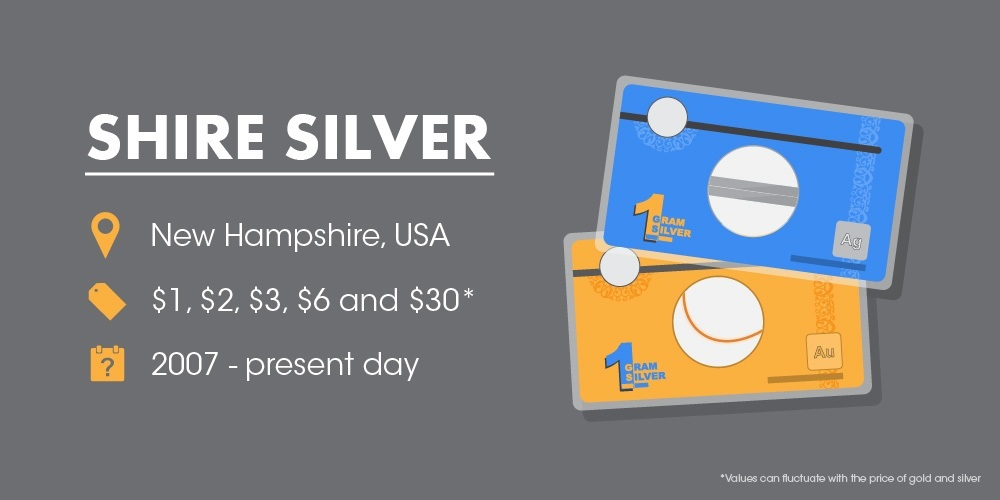 Shire Silver WEIRD CURRENCY