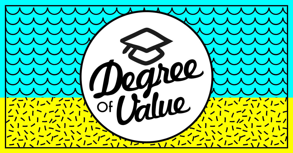 on the value of a degree How much is a college degree worth let's face it, college has become very expensive and the savvy student will carefully weigh the net present value of the college costs with the expected.