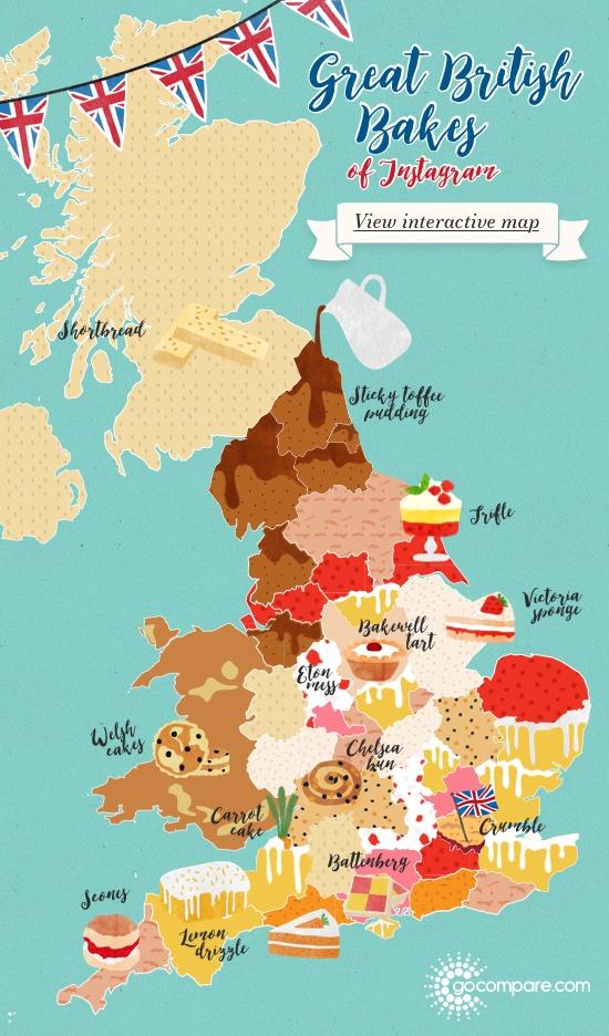 Great British Bakes of Instagram