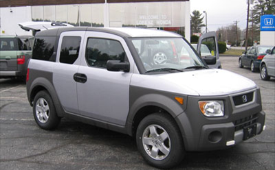 A Honda Element 'crossover'