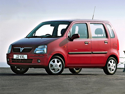 Picture of the Vauxhall Agila