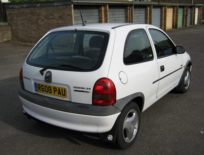 A picture of a Vauxhall Corsa
