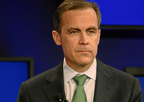 Mark Carney gives a smouldering look