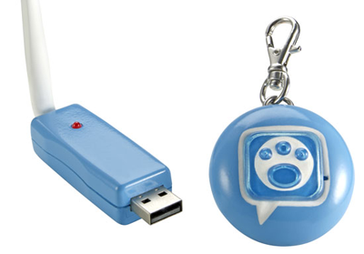 A USB dongle for pets