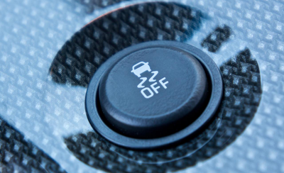 Traction control button