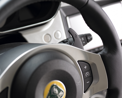 Lotus steering wheel