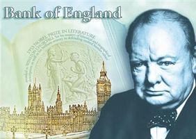 Winston Churchill fiver