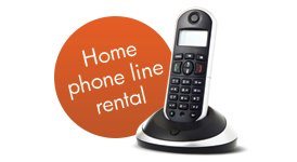Home phone line rental