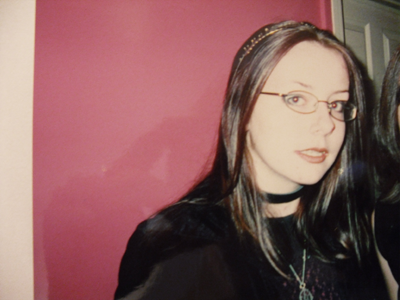 Portrait of the artist as a young goth