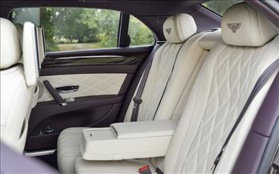 Flying Spur rear seats