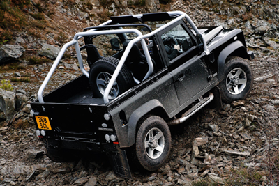 Defender beach buggy style