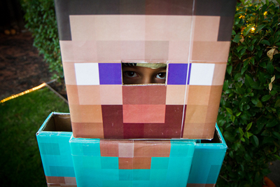 image of person in minecraft outfit