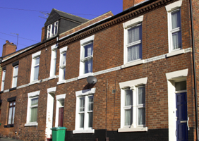 Image of terraced houses