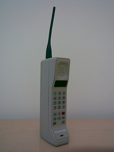 Image of 80s cellphone