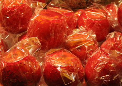 Picture of toffee apples