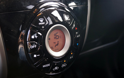 Image of Nissan Note dashboard
