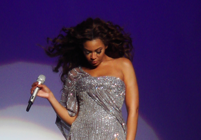 Beyonce performing live