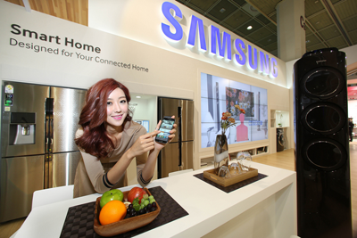 Samsung Smart Home exhibition