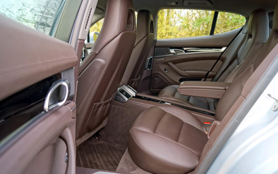 Image of Porsche Panamera Diesel rear seats