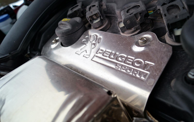 Image of Peugeot RCZ R engine
