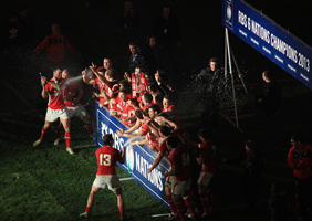 Wales lift the 2013 Six Nations