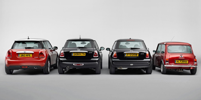 Mini lineage from rear