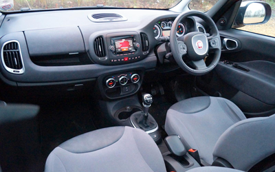 Image of Fiat 500L interior
