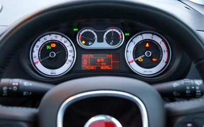 Image of Fiat 500L dash