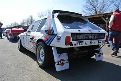 Image of Group B Rally Car at Goodwood 72MM