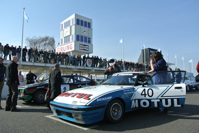 Image of cars at Goodwood 72MM