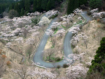 Image of Touge roads, Japan