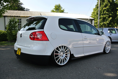 Image of modified Golf Mk5