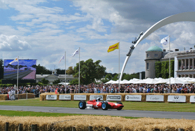 Image of track at Goodwood Festival of Speed