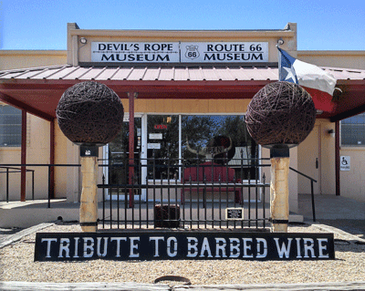 Image of Barbed Wire museum
