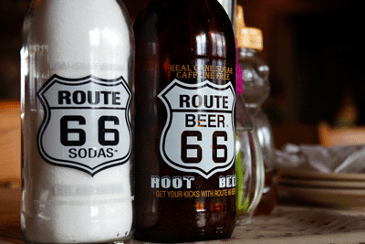 Image of route 66 drink