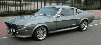 Image of Ford Mustang as seen in Gone in 60 Seconds