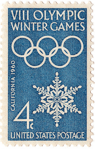 Image of 1960 Olympic stamp