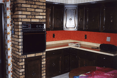 Image of 70s kitchen