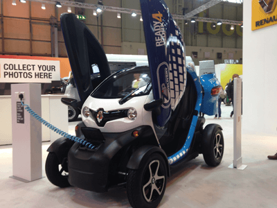 Renault Twizy commercial