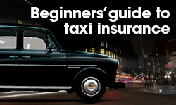Beginners' guide to taxi insurance