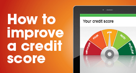 How to improve a credit score