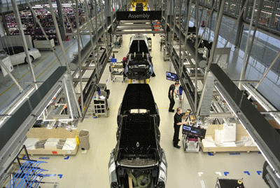 Image of Rolls-Royce factory