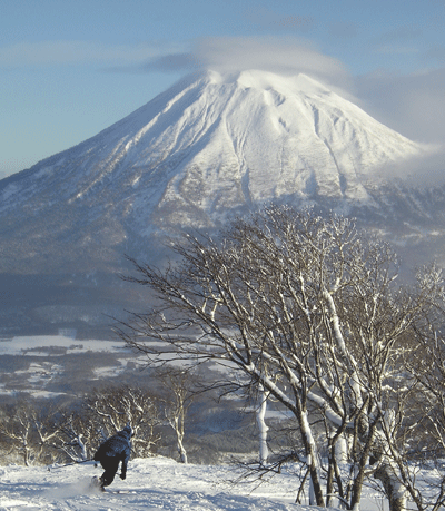 Image of skiing in Japan