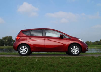 Image of Nissan Note side profile