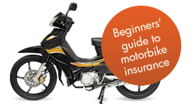 Beginners' guide to motorbike insurance