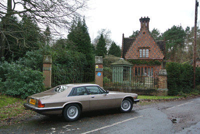 Image of Jaguar XJ-S at Kew