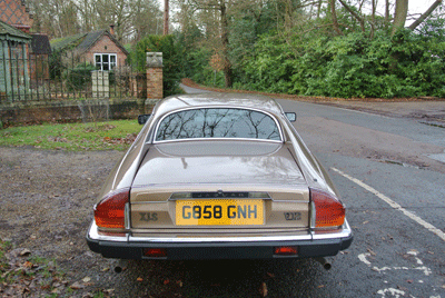 Image of Jaguar XJ-S rear