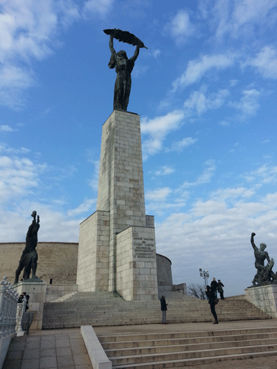 Image of Liberty Statue in Budapest